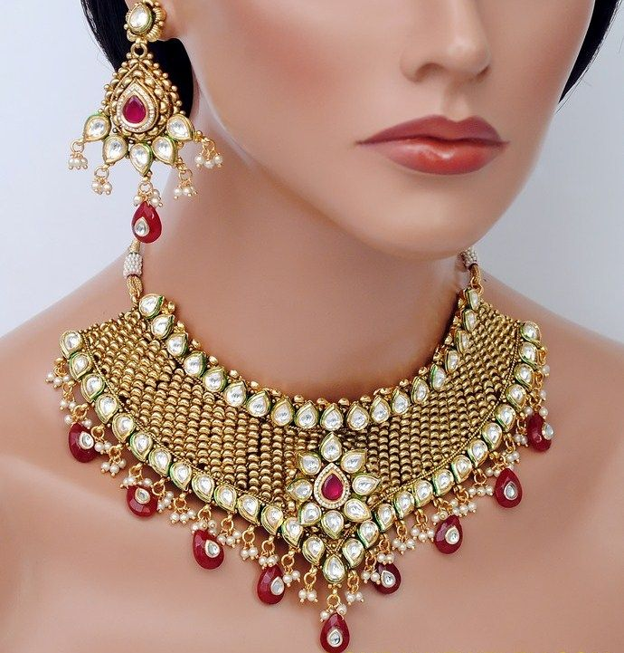Indian Wedding Necklace Jewelry