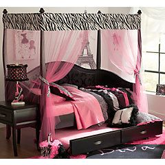 Belle Noir Dark Merlot 6 Pc Zebra Canopy Daybed Bedroom . $1,329.99.  Find affordable Twin Bedroom Sets for your home that will complement the rest of your furniture.