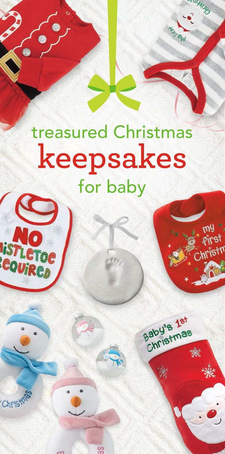 53 Best Babys First Christmas Gifts Keepsakes Images