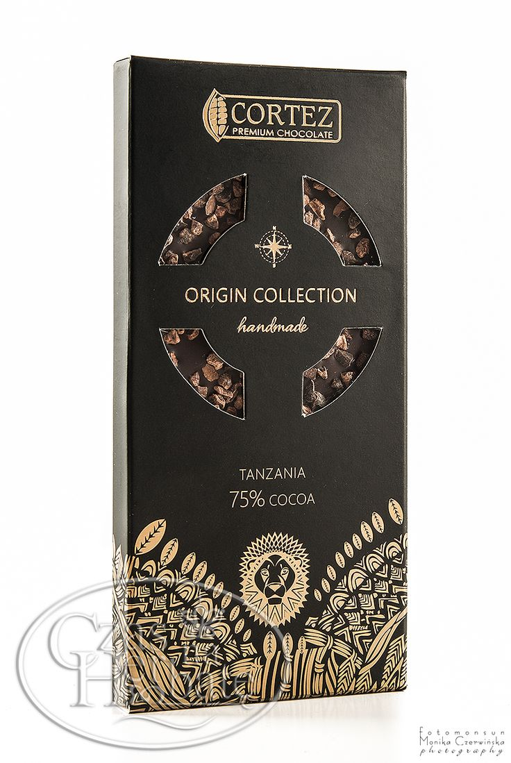 Czekolada Cortez Origin Collection - Tanzania 75% - 85g  #chocolate #czekolada #cortez