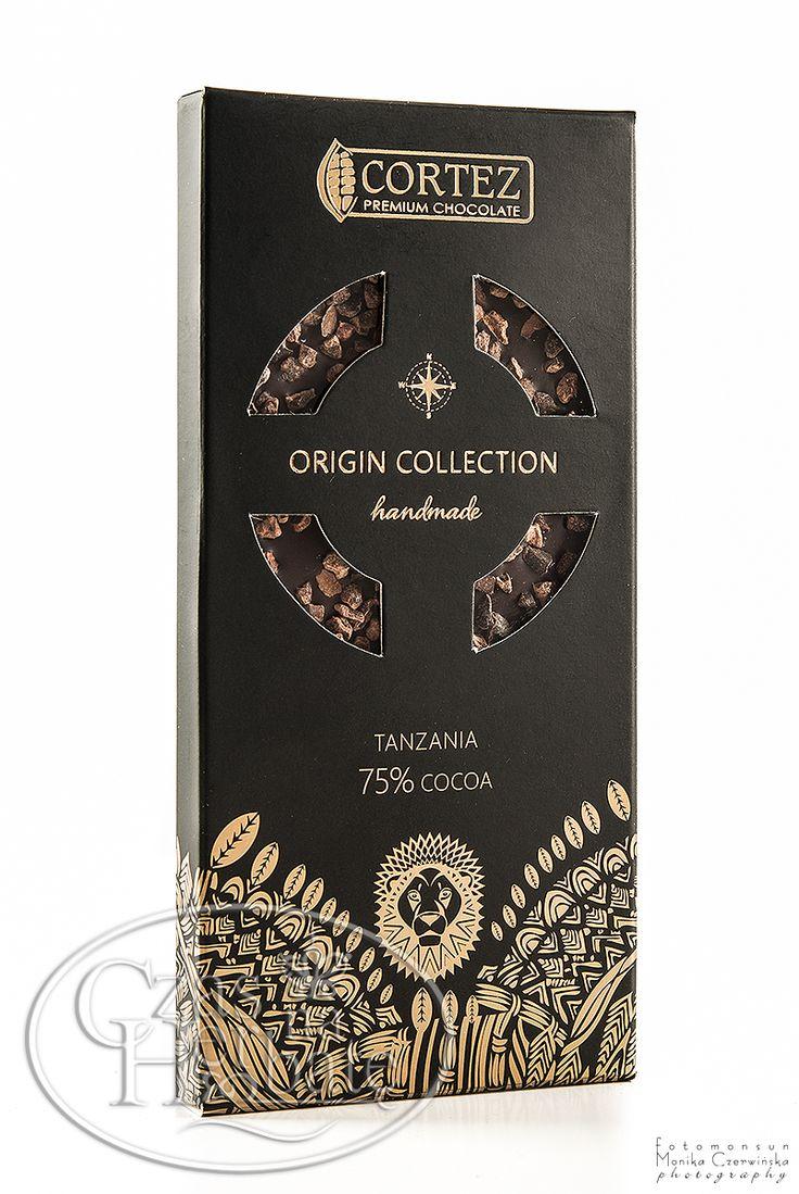 Czekolada Cortez Origin Collection - Tanzania 75% - 85g  #chocolate #czekolada #cortez