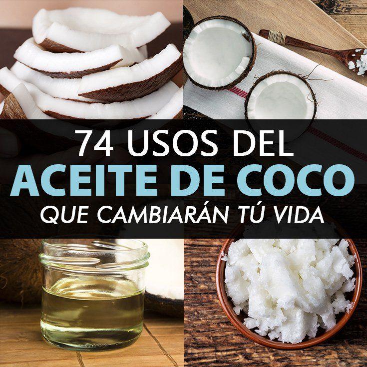 Aquí estan 74 maneras de utilizar el aceite de coco en tu casa.. Para uso externo puedes usar un aceite de coco refinado, este te funcionará bien, para uso interno.