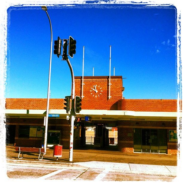 Cronulla Train Station, holds so many memories of teenage years going to the beach