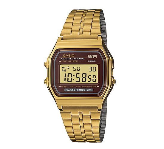 Casio - A159WGEA-5EF Armband-Uhr gold