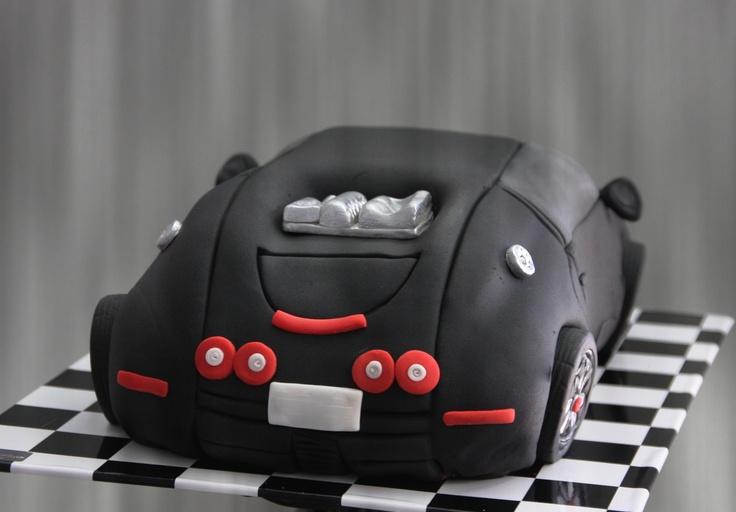 Bugatti Veyron Cake Nicholas B Day Pinterest Cakes