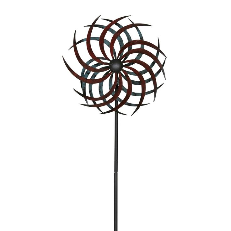Spectacular Metall Windrad gegenl fig