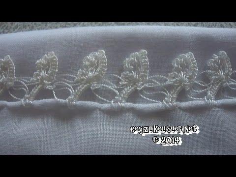 Kolay Tığ İşi Beyaz Örtme Örneği - Easy Crochet White Covering Case