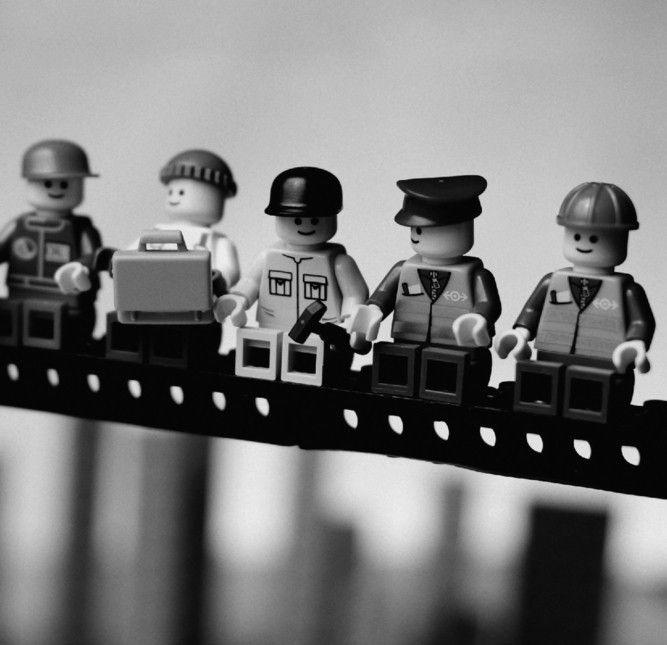 VT Wonen Lego New York 2 bij Behangwebshop