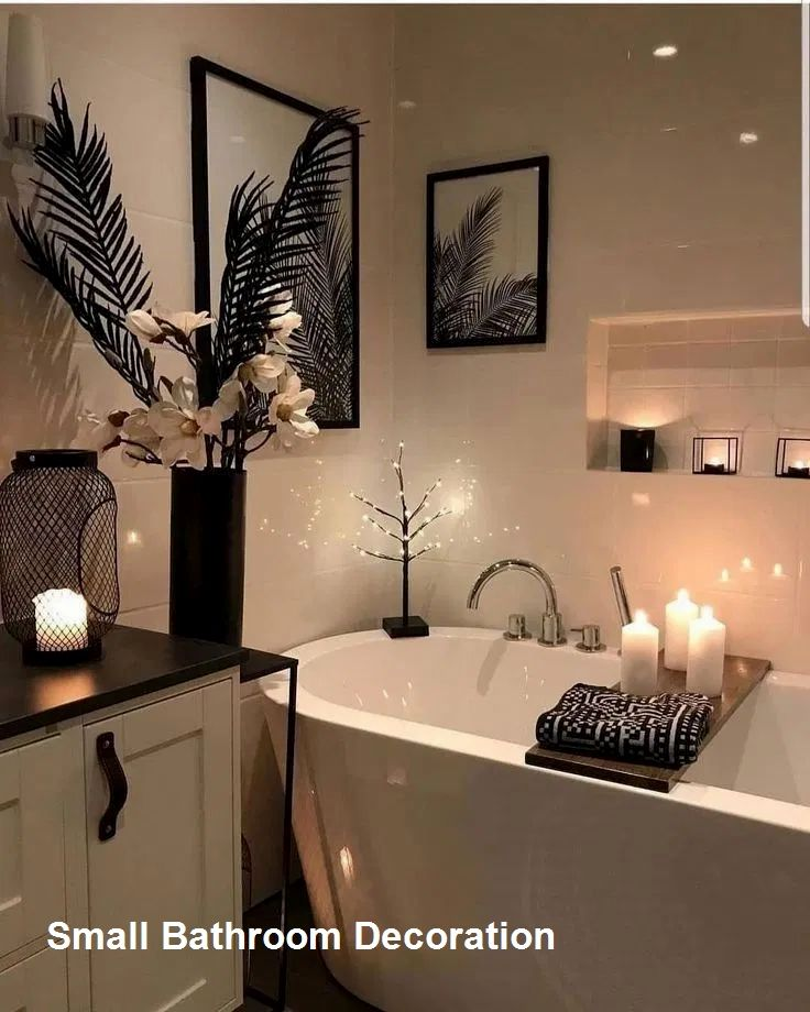 Cozy Small Bathroom Decor Ideas In 2020 Small Bathroom Decor Fancy Bathroom Home Decor Shops
