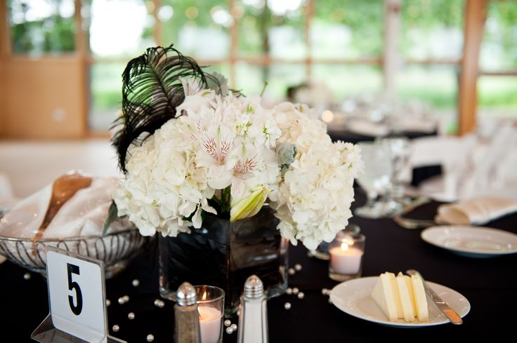You can look into the black and white era to find those finishing touches that will add character to your wedding. Description from blogs.topwedding.com. I searched for this on bing.com/images
