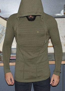 Modagen.com | Erkek Giyim, Erkeklere Özel Alışveriş Sitesi ~ Beyaz Tarz Örme Erkek Kazak