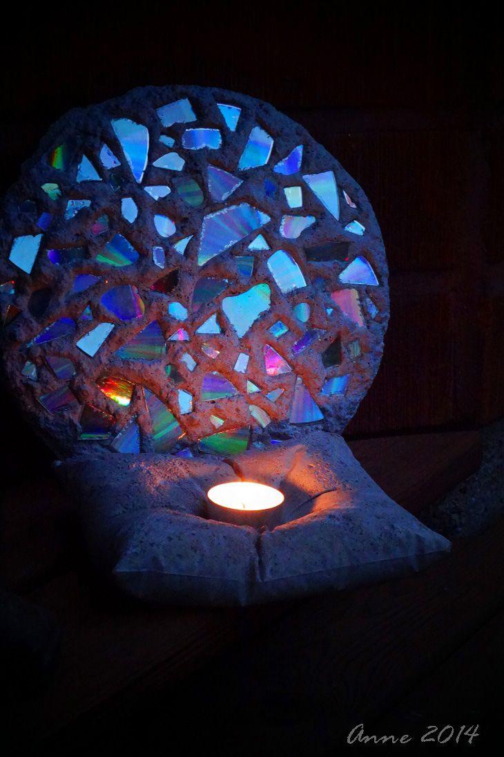 sparkling colours, made of concrete