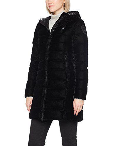 Blauer 17WBLDK03476 004852 Manteau Femme Noir (Nero) Medium ... 723cf6abef47