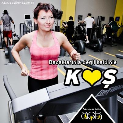 Bacaklarınla değil, kalbinle KOŞ    #fitness #motivasyon #ankara #Çankaya #spor #sağlık #Ankara Şehir Kulübü #vücut geliştirme