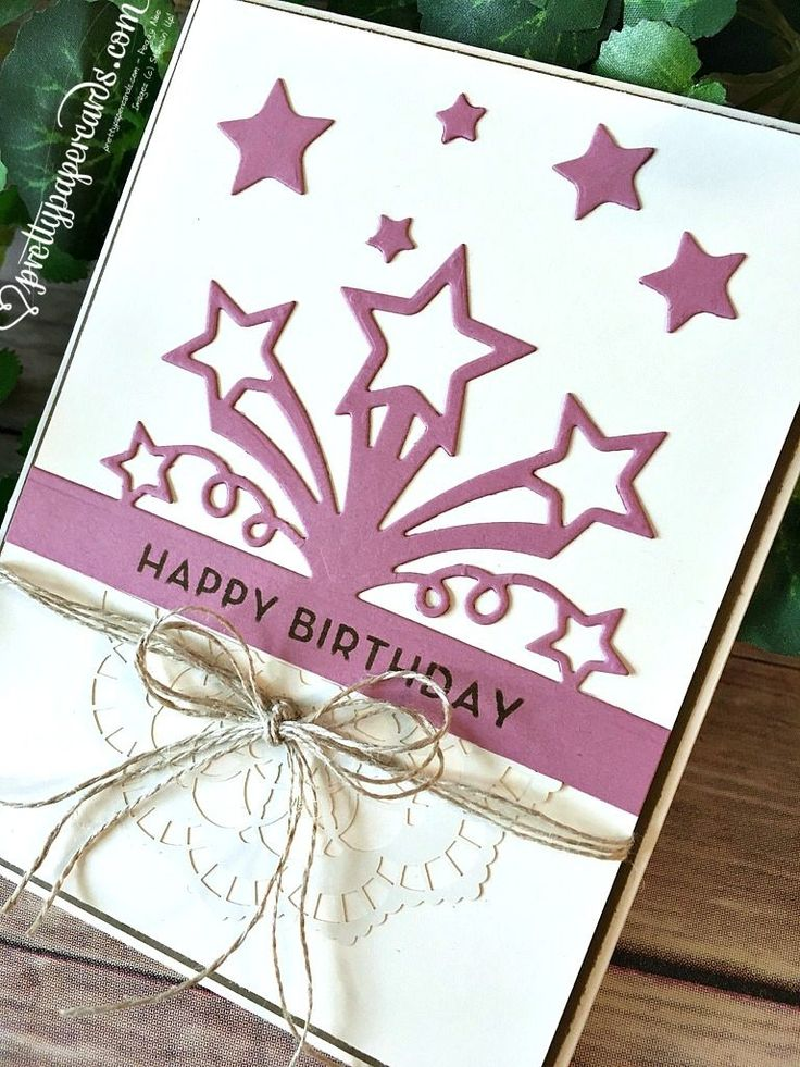 Easy Birthday Blast Card! - Pretty Paper Cards