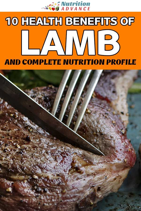 10 Health Benefits of Lamb Meat (and Complete Nutrition