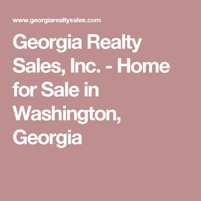 Georgia Realty Sales, Inc. - Home for Sale in Washington, Georgia