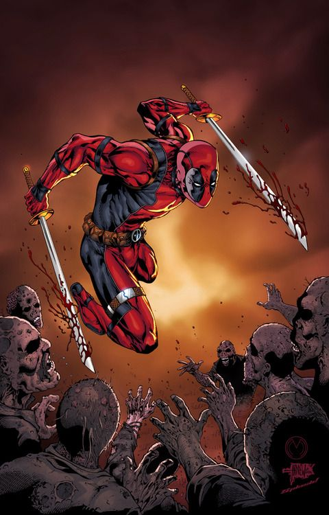 Deadpool by Marat Mychaels