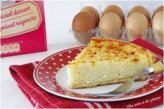 """La tarte au riz ... Hum! Elle est le fleuron de la pâtisserie verviétoise et la fièreté des habitants de Verviers ( en Belgique ). la recette, dit-on, est réalisée depuis plusieurs siècles ( à vérifier ) et est défendue par la confrérie """"Vervi-riz"""". Une..."""