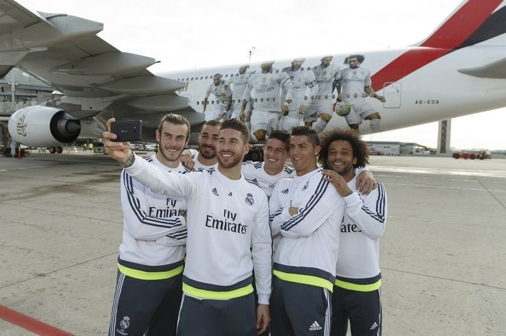 Emirates emblazons Airbus A380 with Cristiano Ronaldo and Real Madrid teammates