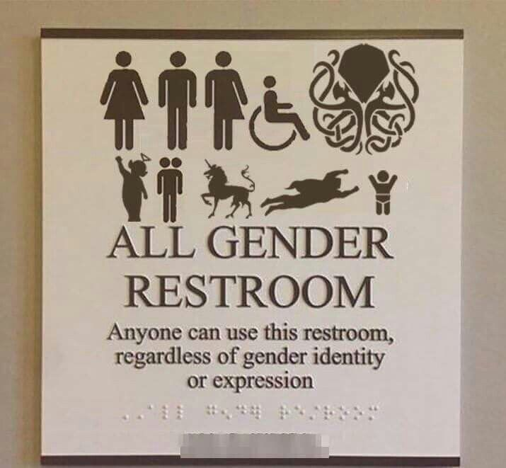 All Gender Restroom Jokes All Gender Restroom