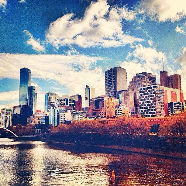 Beautiful early winter day in Melbourne #Australia  by @Em Frankcom Leech (instagram)
