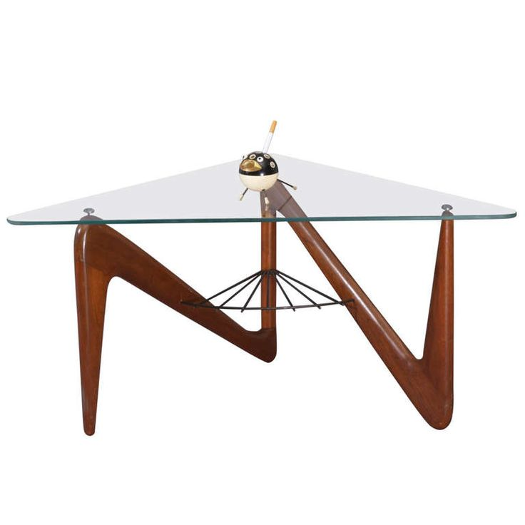 Perfect Triangle Coffee Table By Louis Sognot