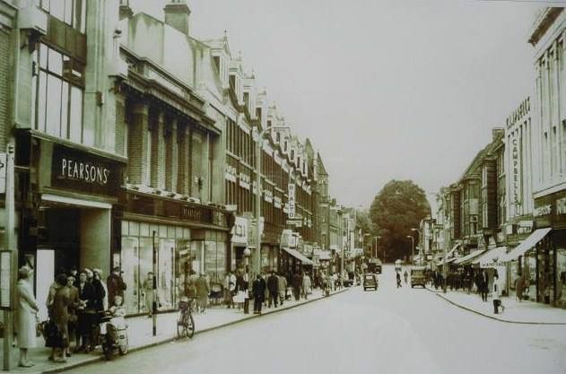 Church Street Enfield Town, Pearsons Department Store