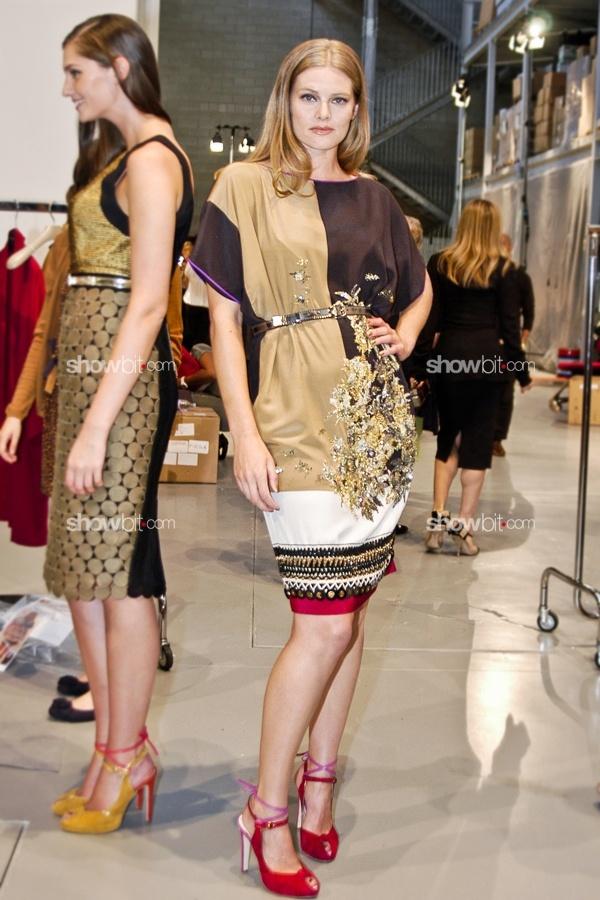 Danielle Scutt at Elena Miro SS/2012 show: Curvy Models, Coco Chanel, Miro Ss 2012, Elena Miro