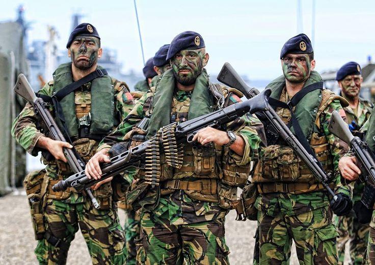 Portuguese Navy Fuzileiros (Marines).