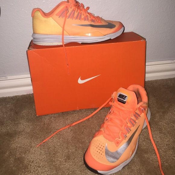 Nike Lunar Ballistic Tennis Shoes These are perfect on and off the court! Nike Shoes Athletic Shoes