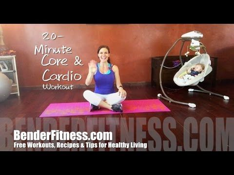 20 Minute Body Weight HIIT Workout: Core Sculpt + Cardio Fat Burn - YouTube