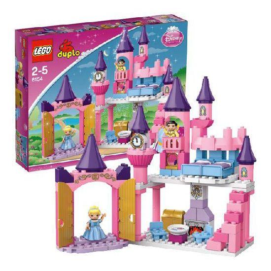 Конструктор LEGO Duplo Disney 6154 Лего Замок Золушки: цена 2189 руб, Конструктор LEGO Duplo Disney 6154 Лего Замок Золушки - купить в интернет магазине детских товаров и игрушек «Детский Мир»;