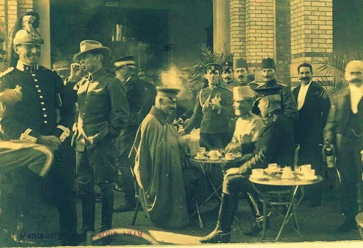 Mustafa Kemal Fransa'da...(Picardie Manevraları)(1910)