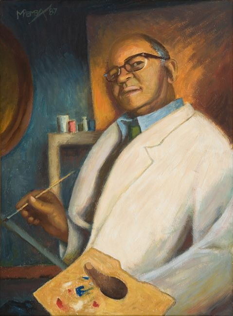 George Pemba: Self-portrait