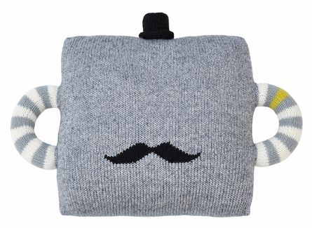 Hold Me Tight Mustache Pillow