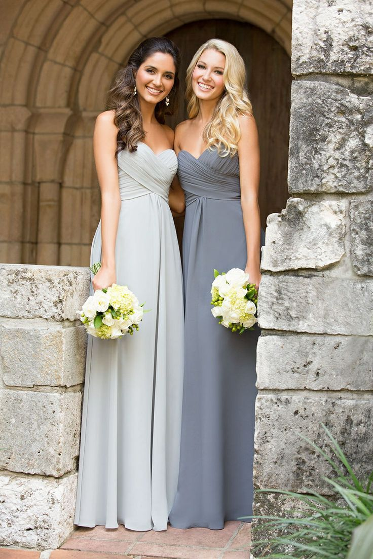 25 cute charcoal grey weddings ideas on pinterest wedding our dress of the week this week is a bridesmaid dress this strapless sweetheart chiffon ombrellifo Choice Image