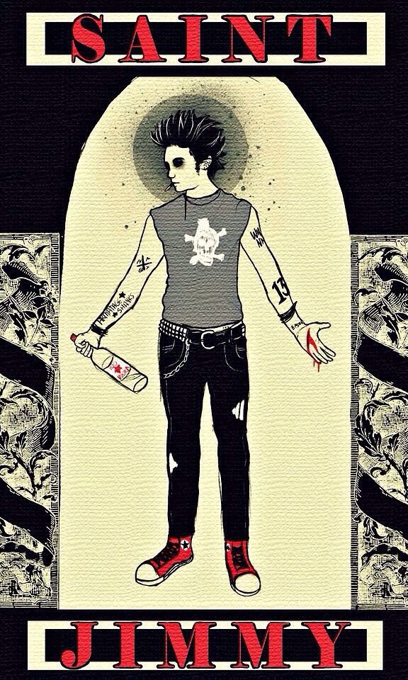 Whoever made this is amazing! #stjimmy #greenday.