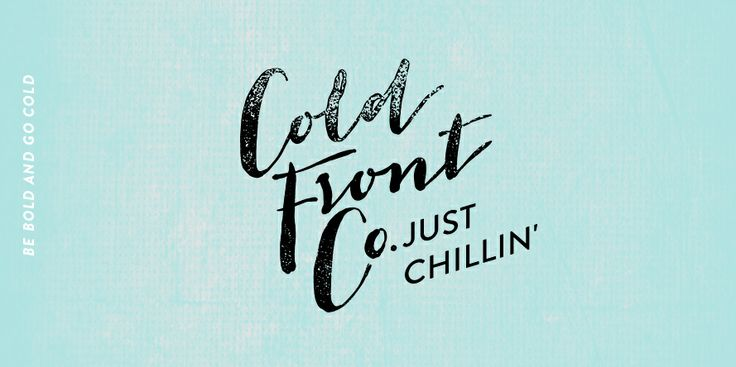 The Cold Front Co. Naming and brand identity