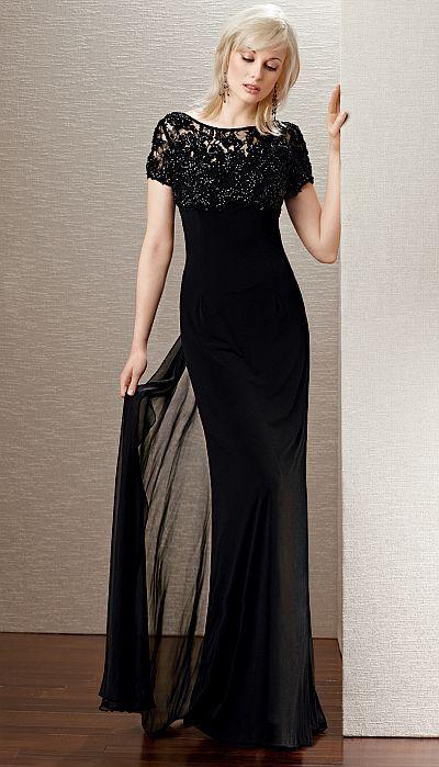 Alyce Jean De Lys 29569 Short Sleeve Formal Dress at frenchnovelty.com