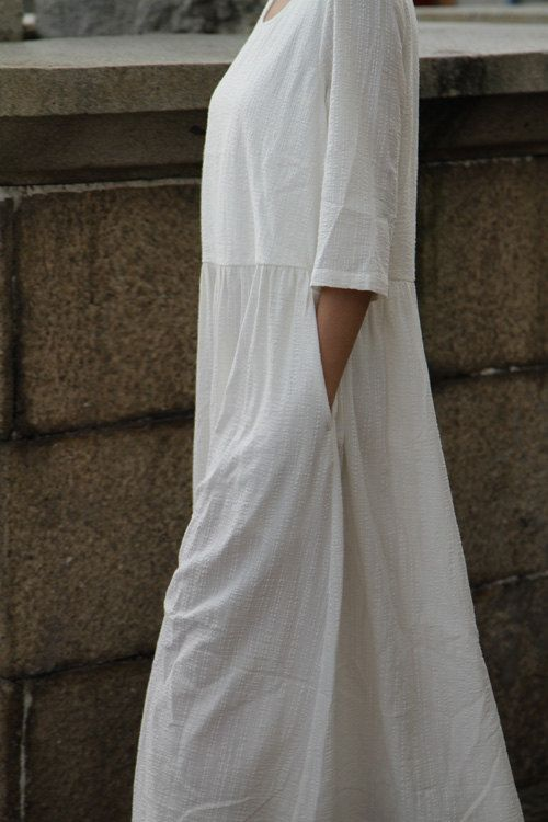 Perfect for Summer - White and flowing!