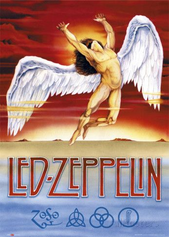 Led ZeppelinSwan Song logohttps://en.Wikipedia.org/wiki/Swan_Song_Records Swan Song Records was a record label launched by Led Zeppelin@1974 it was overseen by Zeppelin's manager Peter Grant & was a vehicle4the band2promote its own products as well as sign artists who found it difficult to win contracts@other major labels http://AllPosters.com