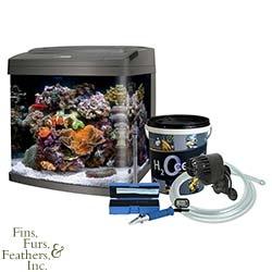 Coralife 29 Gallon BioCube Aquarium with Saltwater Mixing Kit from MarineDepot.com - $380.99 #aquarium #fish