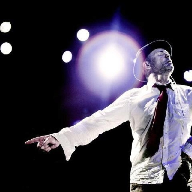 Gord Downie of the Tragically Hip