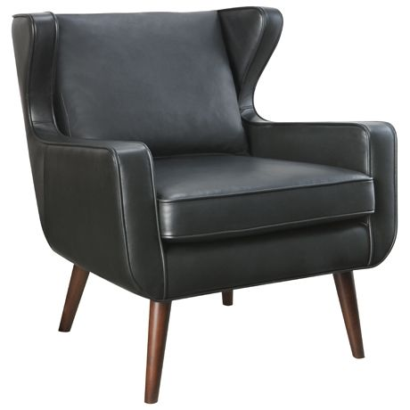 Danish Wing Chair Essential Black