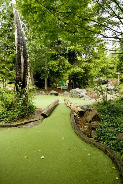 Rainbow Run miniature golf course at Willows Run.