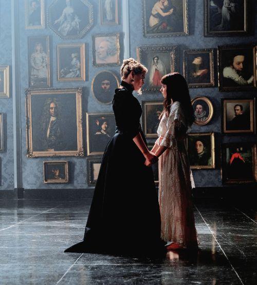 """lilyfrankenstein: """" Lily, Justine and Dorian Gray in 03x02 """"Predators Far and Near"""" """""""