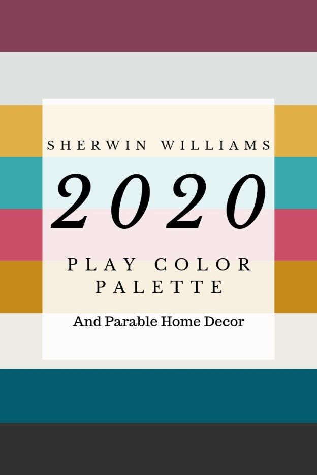 Sherwin Williams 2020 Color Palette Play With Images Paint Trends Trending Decor Sherwin Williams Colors