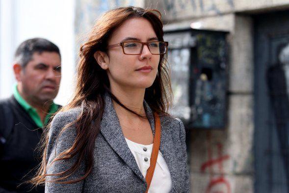 La diputada Camila Vallejo (PC)