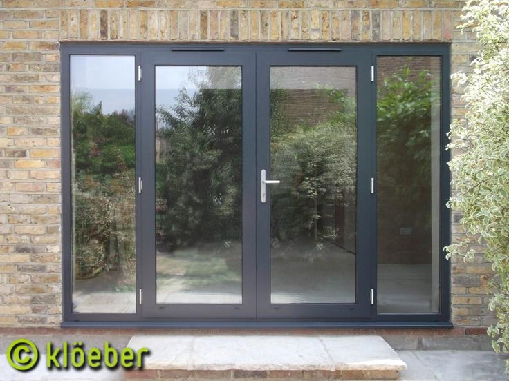 25 best ideas about aluminium french doors on pinterest for Single glass patio door